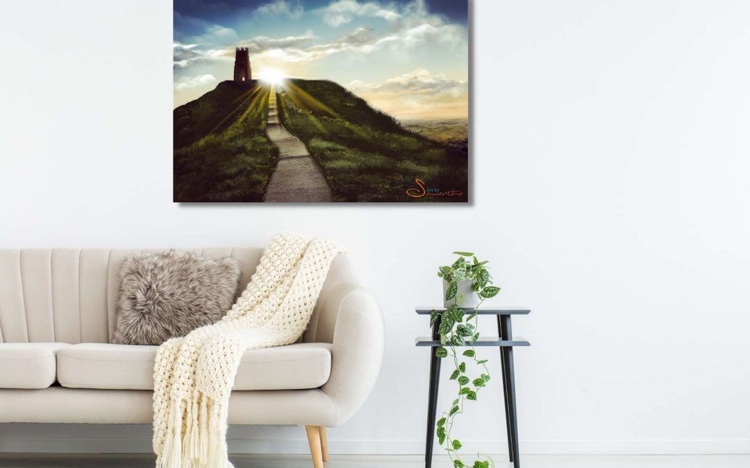 Glastonbury Tor by Samantha Biddle